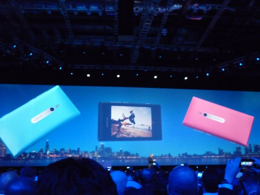 Announcement of Lumia @NokiaWorld