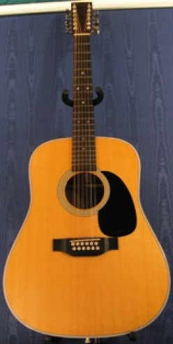 The Martin D12 - 28 The Twelve String Version Of The World's Most Desired Acoustic Guitar.