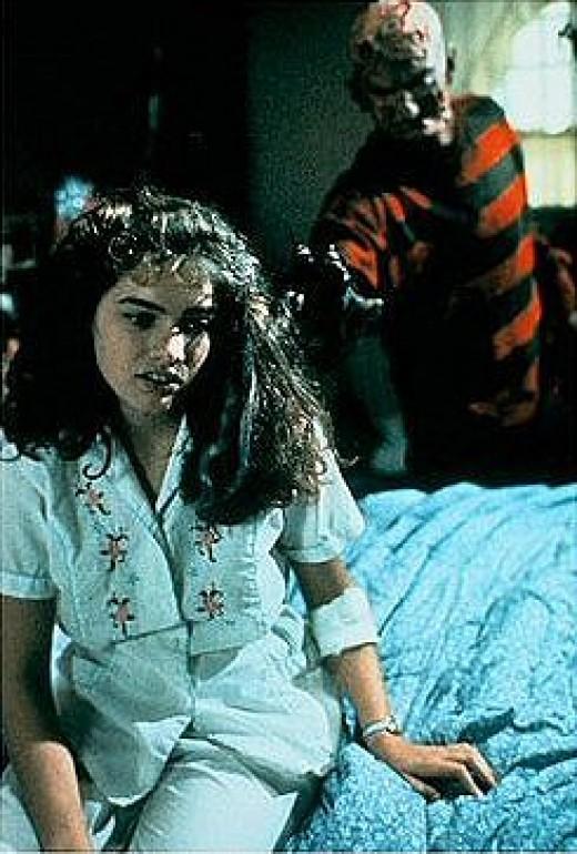 Nancy denying Freddy's existance