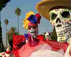 "Mexico's ""Dia de los Muertos.""  The Day of the Dead."