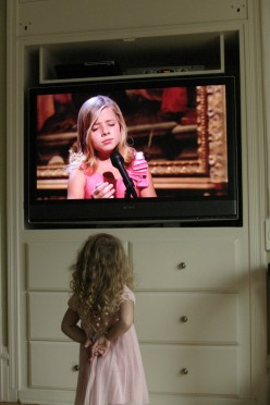 My Granddaughter Nora Loves Jackie Evancho  deedsphotos