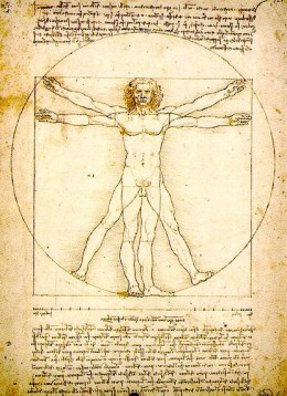 Leonardo da Vinci - The Vitruvian Man