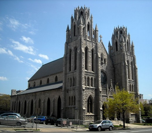 St. Augustine Roman Catholic Church in Washington, DC.