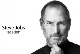 image on the www.apple.com homepage announcing Steve Job's death