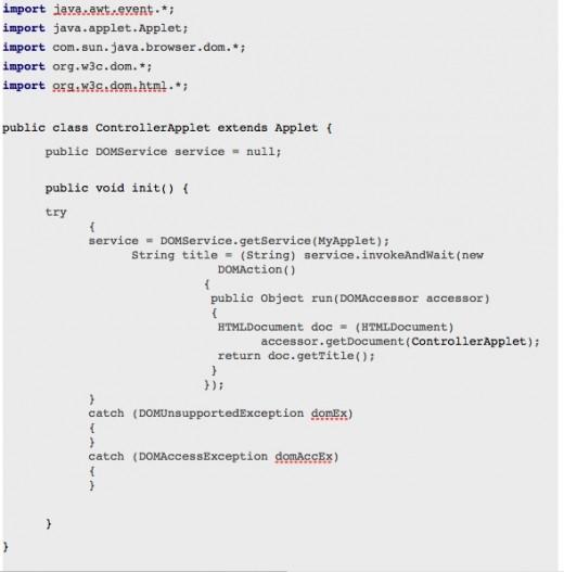 DOMService (Java DOM API)