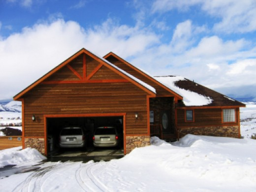 Are your garage doors open -- or closed? image credit: istockphoto -- everydayeyes