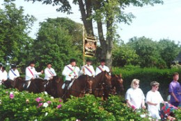 Parades, uniforms, well-trained horses...