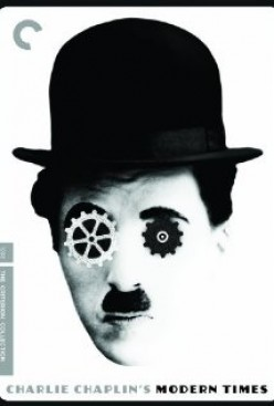 Charlie Chaplin, bolts and conveyer belt
