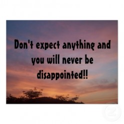 Don't Expect