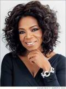 Oprah Winfrey - her book club launched many a bestseller.