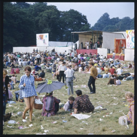 Hippies in Woburn 1969