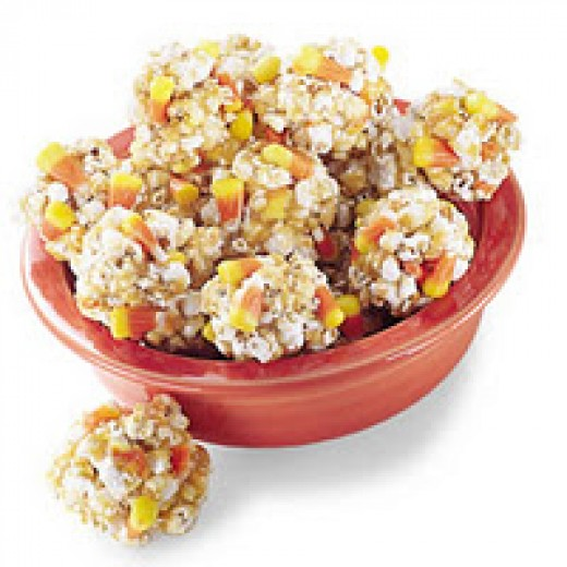 You can make either popcorn bars or balls with this recipe, it's a matter of your personal preference.