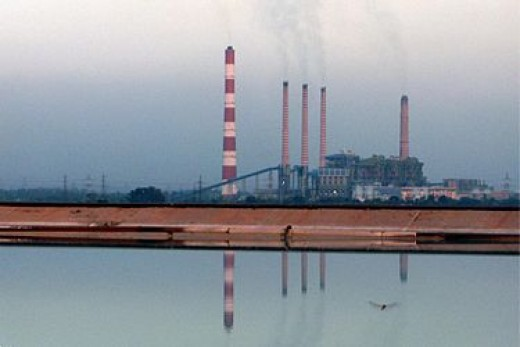 Ramagundam Thermal Power Station, Andhra Pradesh, India