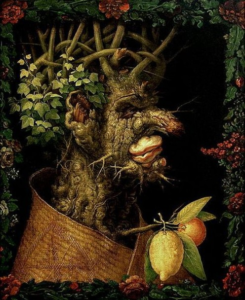 Winter  By Artist: Giuseppe Arcimboldo