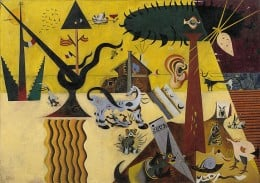 The Tilled Field by Joan Miro.