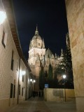 Salamanca, Spain - a beautiful university city in the Castilla and Leon region of Spain.