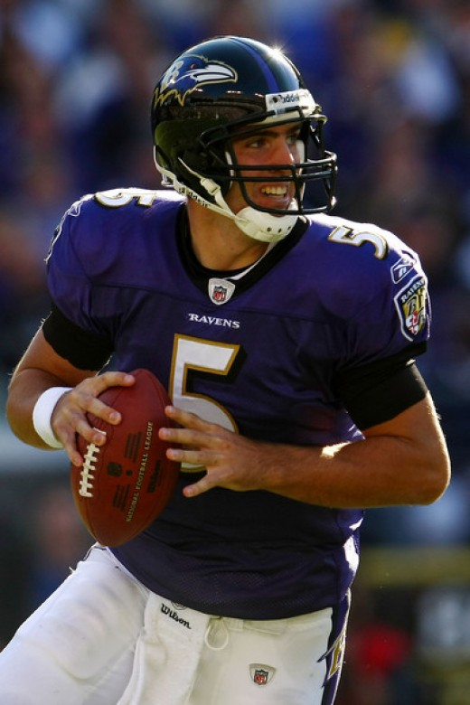 Flacco threw for over 300 yards but still needs to prove himself to be consistent in this league