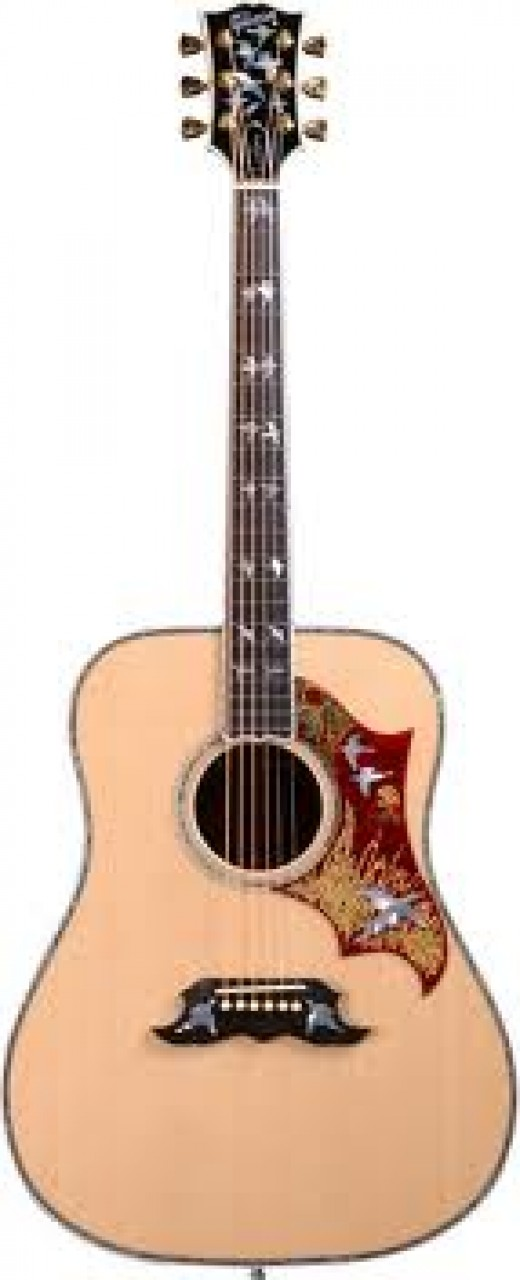The Gibson Doves In Flight Guitar.