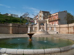 The fountain Cavallina of today was very likely an amphitheatre at the beginning of Genzano history. So is this where the Christian martyr of Secondo and Donato took place?
