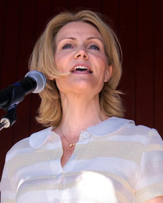 Helle Thorning-Schmidt, Prime Minister of Denmark
