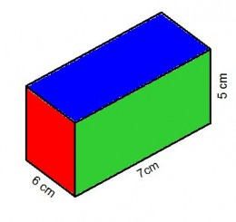 how to work out the area of a prism