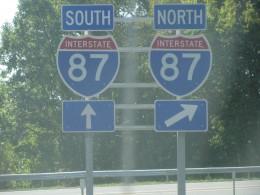 I87 - New York State Thruway
