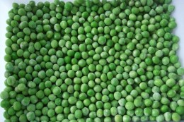 Use frozen peas for easy homemade baby food.