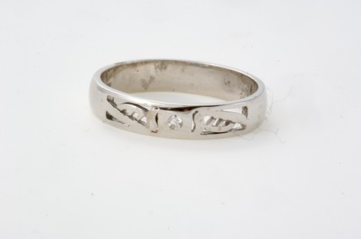 18k White Gold Wedding Ring With unusual Celtic Harp and Diamond detail from a range at Seoda Si Celtic Jewelry.com