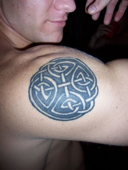 Celtic Knot Tattoo on Arm