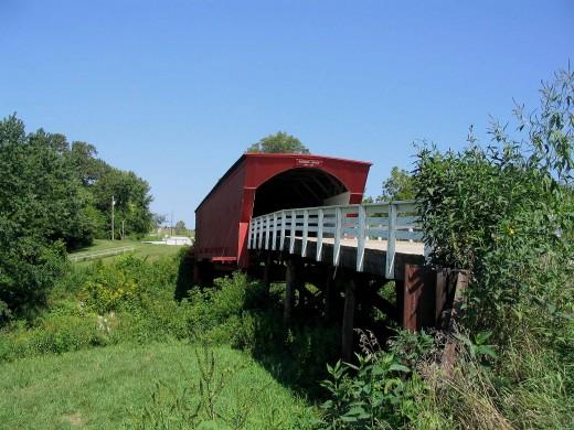 Roseman Bridge - locale for the film Bridges of Madison County