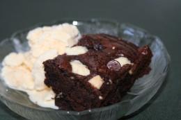 Raspberry White Chocolate Brownies