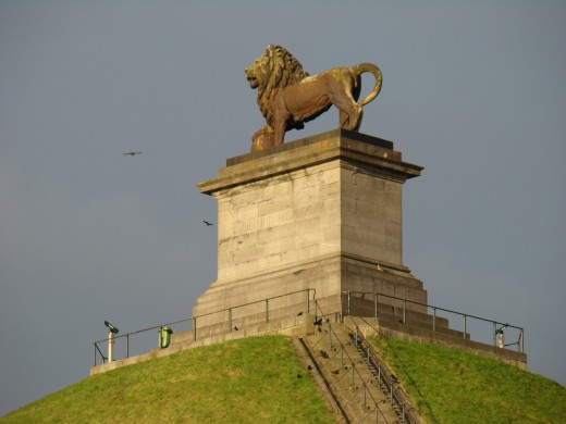 The Lion of Waterloo, Waterloo (Walloon Brabant, Belgium)