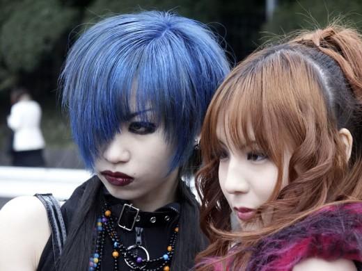 Harajuku hairstyles.