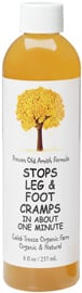 I LOVE this Amish remedy because it is completely natural and works in literally just a few seconds to stop a cramp.