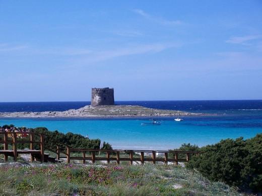 Sardinia, Torre della Pelosa