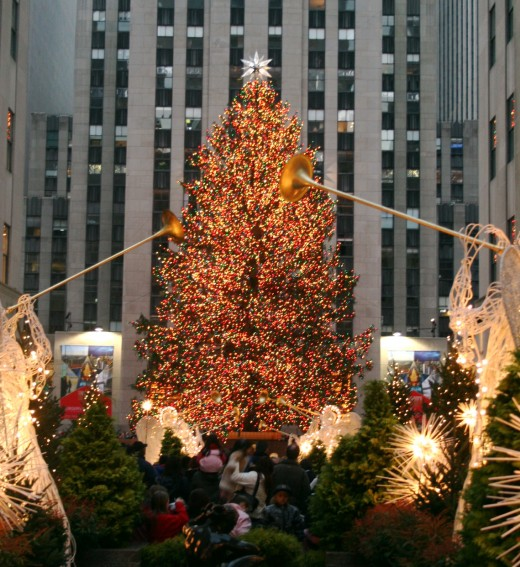 Christmas in New York, Rockefeller Plaza, 2006