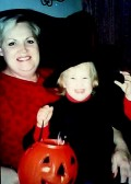 Grandma and my little girl, age 2.