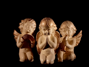 As a child, I once had a set of Christmas angel figurines for each day of the week.