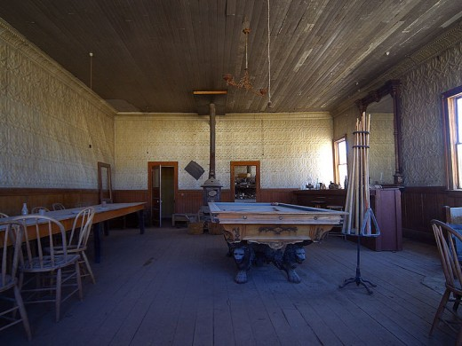 Bodie Saloon, Bodie, California
