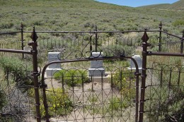 Bodie cemetery, Bodie, California