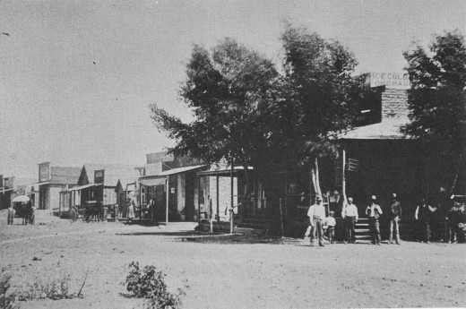 Fairbank, as it stood in 1890, Fairbank, Arizona