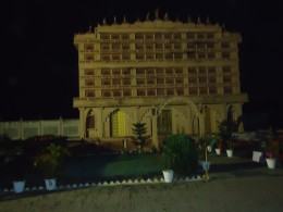 The museum building in the temple complex at Kundalapur