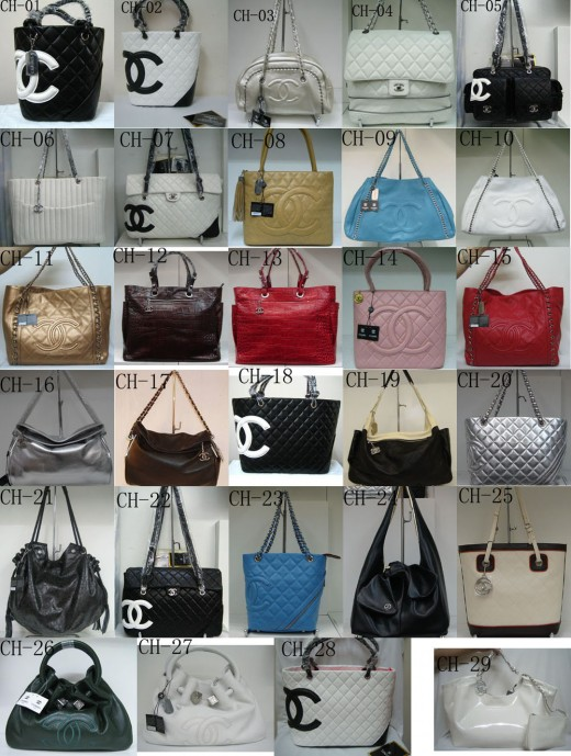 Chanel offers a large collection of styles and colors from which you can choose your favorite