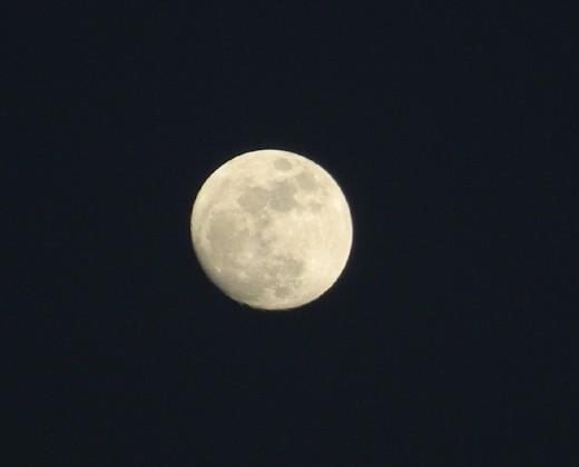 Super moon of 2011