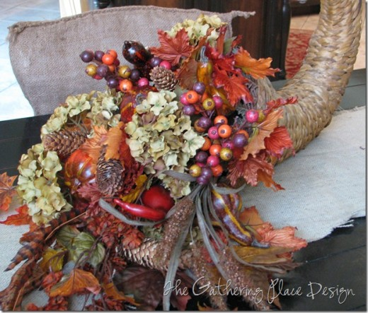 Unique free homemade thanksgiving centerpiece tutorials
