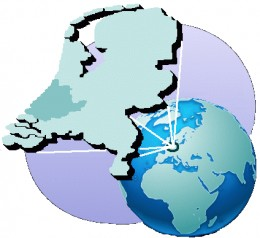Map location of South Holland province, The Netherlands