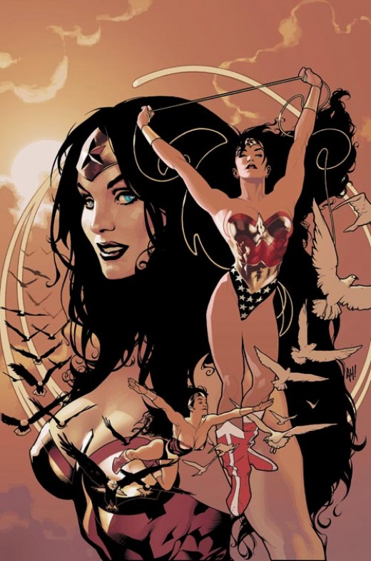 Wonder Woman: Queen of the Heroines