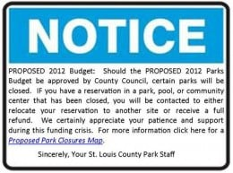 St Louis County Budget Notice