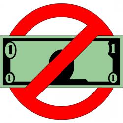 No cash