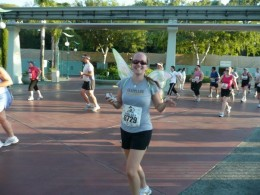 Disneyland Half Marathon, mile 3 (ish).